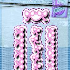 6002/0450 JOY Die Cut/emb Tiny Bows-0