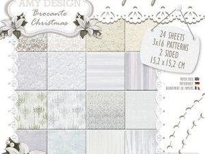 ADPP10008 Amy Design Papirsblok Brocante Christmas-0