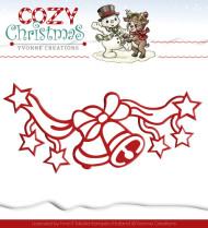 YCD10037 Yvonne Creations Die Cozy Christmas Jingle Bells-0
