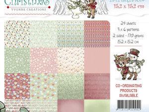 YCPP10006 Yvonne Design Papirblok Cozy Christmas-0