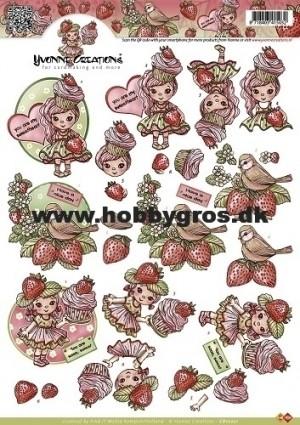 CD10221 Yvonne Design 3D 1 ark Sweetheart-0