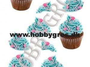 066389 Lene Design 3D 1 ark Cup Cake-0