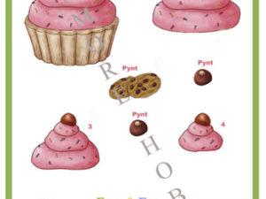 13027 Dan Design 3D 1 ark cupcake-0