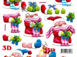 777459 Le Suh 3D 1 ark Julemænd-0
