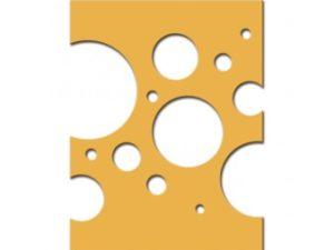 SCD-016 Spellbinders Die Celebra'tions Confetti Plate -0