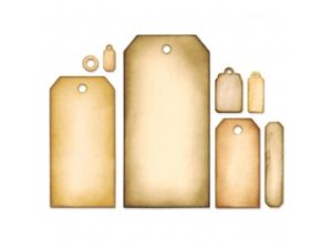 658784 Sizzix Die Tim Holtz Alterations Framelits Tag Collection-0