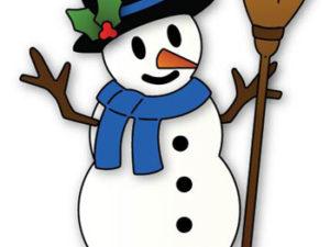 929 Elizabeth Craft Design Cutting Die Snowman-0