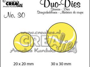 CLDD30 CREAlies Die Duo Dies DD30 tennisbolde, No 30 -0