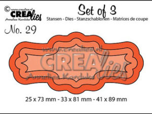 2479 CREAlies Die Set of 3 no.29 Tags/Rammer-0