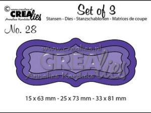 2481 CREAlies Die Set of 3 no.28 Tags/Rammer-0
