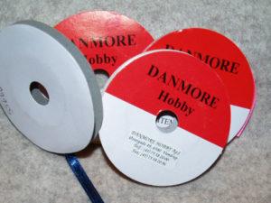 55366 Danmore Satinbånd marineblå 3mm-0