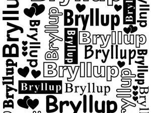 DCTXT005 Nellie Snellen Embossingfolder Bryllup 15x15-0