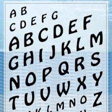 6410/0368 JOY Stempel MERY'S Alphabet-0