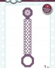 CED1453 Creative Expressions Sue Wilson Die Finishing Touches Scalloped Lattice Buckle Bar-0