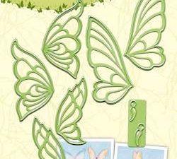 45.1529 Leane Creatief Die Cut/Emb Butterflies -0