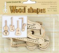 71.1802 Leane Creatief Wood Shapes Musical Instruments-0