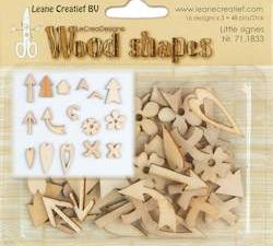 71.1833 Leane Creatief Wood Shapes Little signs-0