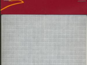 4030 Danmore 3D tern sorte 0,5mm Udstansede skumpuder på ark -0
