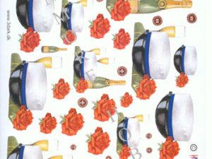 110850 HM design 3D 1 ark student og champagne -0