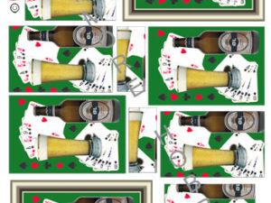 120154 HM Design 3D 1 ark øl og kortspil-0