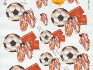 120166 HM Design 3D 1 ark Fodbold-0