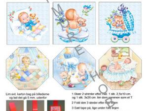 120409 HM Design 3D 1 ark babydreng med skabelon-0