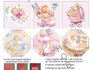 120410 HM Design 3D 1 ark Babypige med skabelon-0