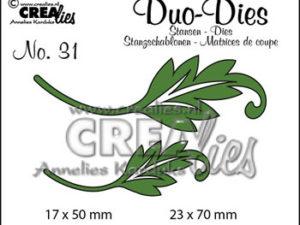 CLDD31 CREAlies Die Duo Dies blade, No 31-0