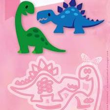 COL1400 Marianne Design Die Collectables Eline's Dino's-0