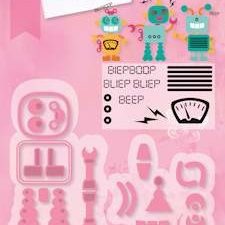 COL1403 Marianne Design Die Collectables Robot -0