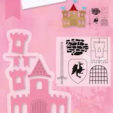 COL1404 Marianne Design Die Collectables Castle -0