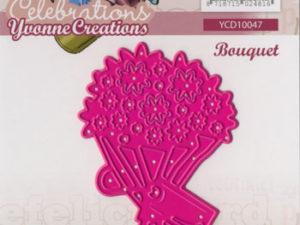 YCD10047 Yvonne Creations Die Celebrations buket -0