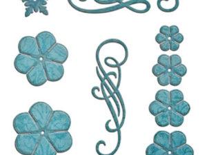 S6-050 Spellbinders Die Cinch and go Flowers -0