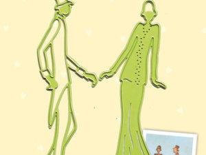 45.1864 Leane Creatief Die Cut/emb Couple-0