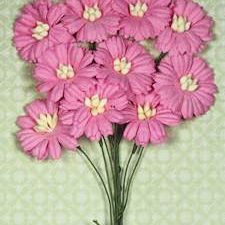4182252 Marianne Design Flower Daisies Bright Pink-0