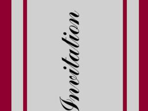 """67006 Felicita Design Stempel """"Invitation""""-0"""