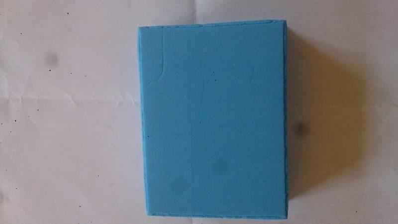 001 Magic Foam blå lav selv stempel-0
