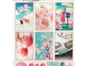 STAPSR1361 STUDIOLIGHT Udstanset 1 Ark A4 Sweet Romance-0