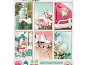 STAPSR1364 STUDIOLIGHT Udstanset 1 Ark A4 Sweet Romance-0