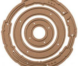 S3-233 Spellbinders Die Shapeabilities Designer Series Seth Apter Robo Ring-0