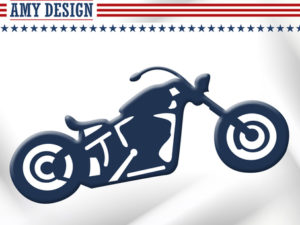 USAD10004 Amy Design Die America Collection Bike-0