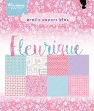 PK9135 Marianne Design Papirblok A5 Fleurique -0