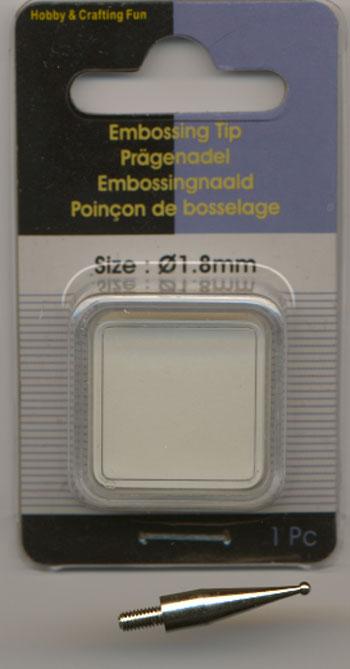 12025-1004 Hobby & Craft Fun Ciselerings/embossing kugle 1,8mm -0