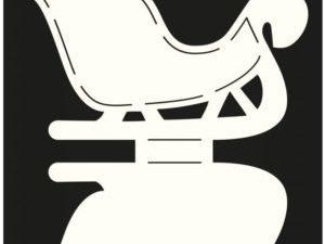 470.713.506 Dutch Doobadoo Card Art Stencil Sleigh-0
