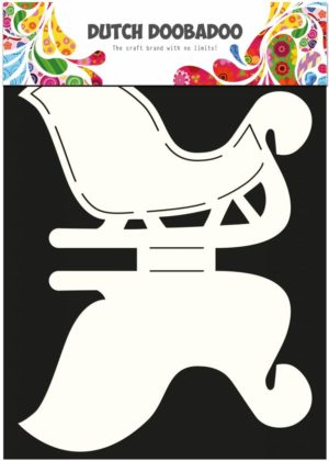 470.713.506 Dutch Doobadoo Card Art Stencil Sleigh-0