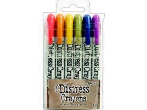 TDBK47919 Ranger Tim Holtz Distress Crayons sæt 2, 6 stk-0