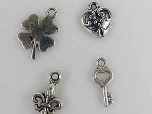 CHARM003 Nellie Snellen Metal Charms Good Luck -0
