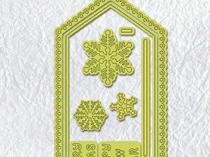 MCD001 Nellie Snellen Die Special Card Christmas Card-0