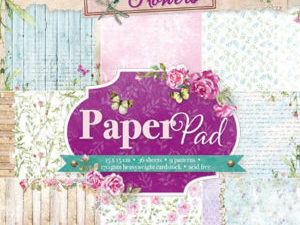 PPBF33 Studiolight Papirsblok Beautiful Flowers -0