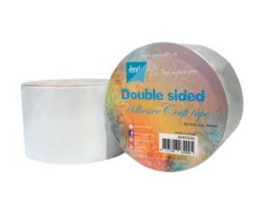 6500/0030 JOY Doublesided Adhesive Craft Tape 65mmx15m -0